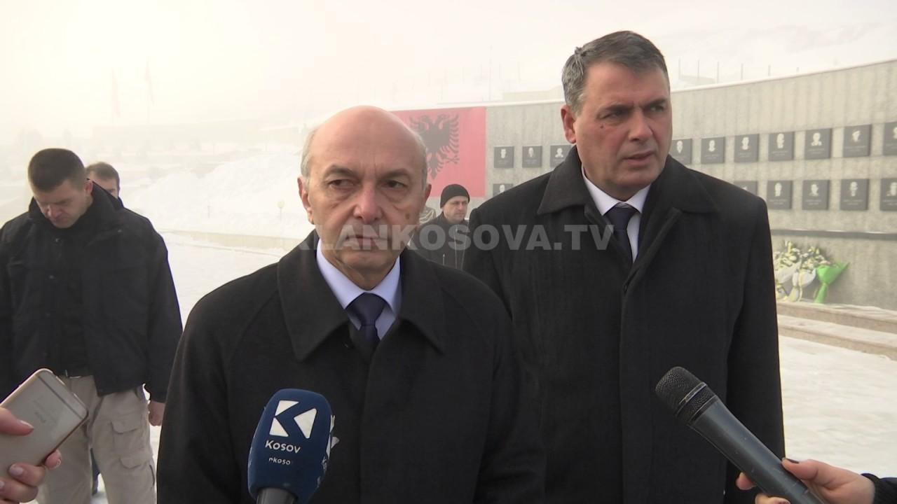Mustafa vërejtje serbëve pë murin murin, ndryshe veprojnë institucionet - 15.01.2017 - Klan Kosova