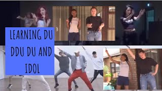 Learning K-pop Dances: Du Du Du + Idol