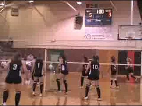 9-13-08 High School Volleyball @ Jewell, KS
