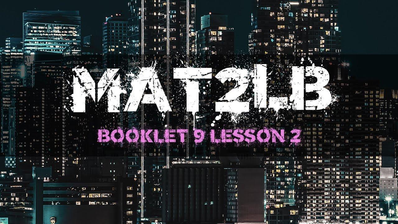 Grade 10 Ff Math Unit 9 Lesson 2