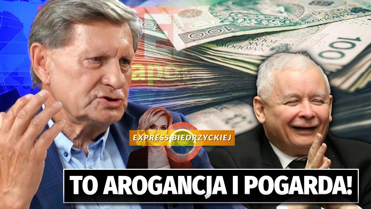 """""""Arogancja i POGARDA"""" Balcerowicz KRYTYCZNIE o pomysłach Kaczyńskiego: Tak OTUMANIŁ społeczeństwo!"""