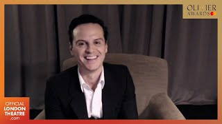 Andrew Scott wins Best Actor for Present Laughter | Olivier Awards 2020 with Mastercard