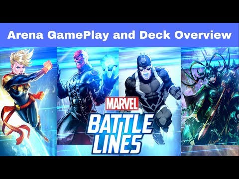 Marvel Battle Lines: Arena Gameplay and Deck Review