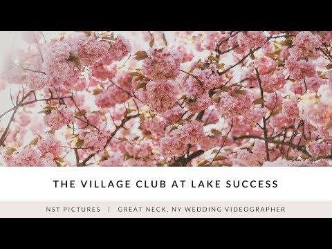 The Village Club at Lake Success Wedding Video - Britta & Adam - Great Neck, New York