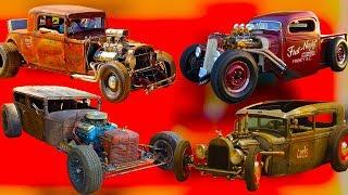 Что такое автомобили ХОТ РОУД, как их делают,и какие двигатели ставят на них