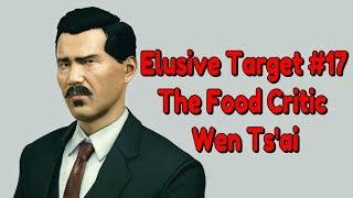 """Hitman"" Walkthrough (Silent Assassin), Elusive Target #17 - The Food Critic (Wen Ts"