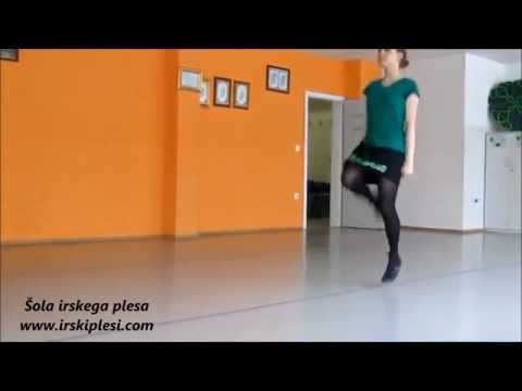 Solo step dances in soft shoes
