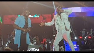 See How Davido Throws Shade At Dele Momodu As He Performs Alongside Falz At His Live In Concert