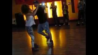 Ivo and Shani Brazilian Zouk lesson 2015.06.23