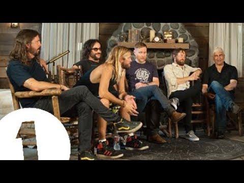 Foo Fighters talk life, music and headlining Glastonbury with Clara Amfo