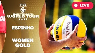 Espinho 4-Star - 2018 FIVB Beach Volleyball World Tour - Women Gold Medal Match