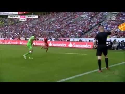 FC Bayern München vs. Borussia Mönchengladbach Telekom Cup 2013 Final 5:1 Full Match HD German