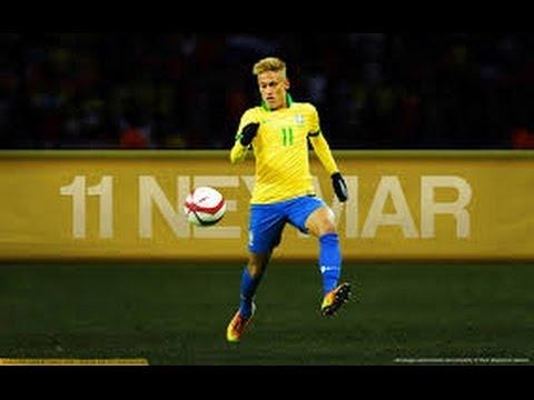 Neymar Da Silva ● Brasil 2014 HD Sube La Mano y Grita Gol