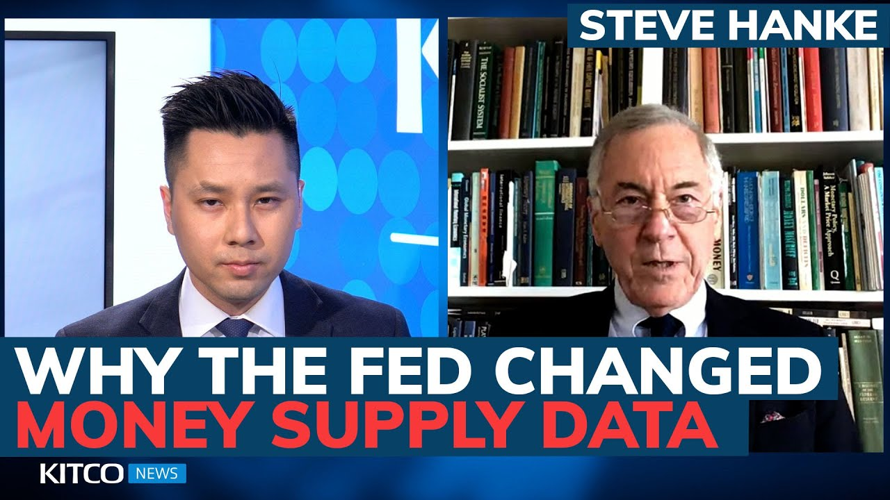 Download Is the Fed hiding something? Why weekly money supply data just got discontinued – Steve Hanke