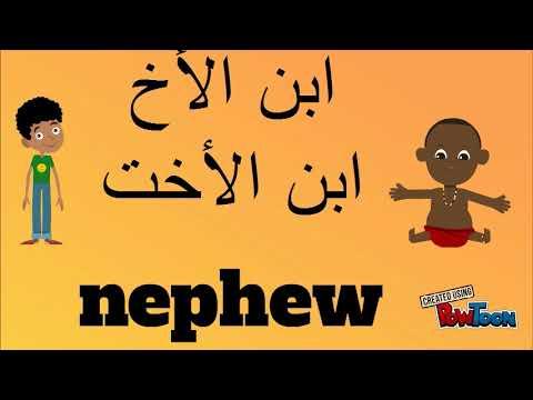 Learn Lebanese Arabic dialect - Lesson 3 - Family tree شجرة العيلة