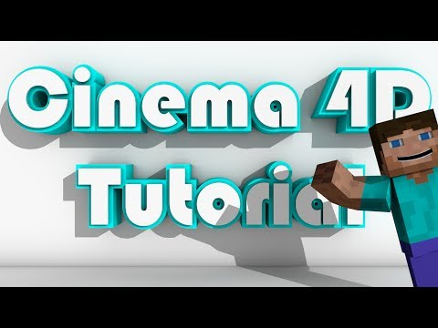Cinema 4D Tutorial: How to Animate Minecraft - Part 1