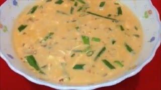 Easy Thai Soup Tom Kha Gai Recipe (Coconut Milk with Shrimp)