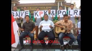 """""""Kita Satu (Save KPK,Save Polri) BEM UR 2015"""