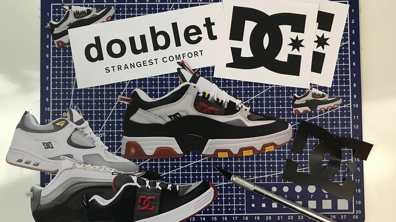 DC SHOES : DOUBLET COLLAB