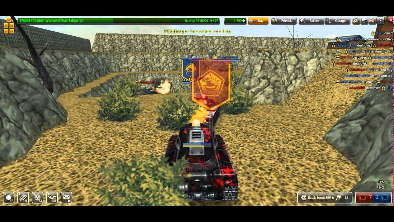 Tanki Online Canyon CTF Server 35 Tanki Online Free MMO game - YouTube