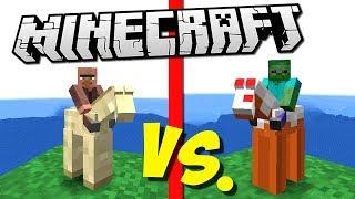 ГЛИНЯНЫЕ ТОРГОВЦЫ ПРОТИВ АРМИИ ЗЛЫХ ЗОМБИ (Epic Clay Soldiers Battle) Minecraft #5