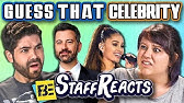 GUESS THAT CELEBRITY CHALLENGE #2 (ft. FBE STAFF)