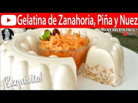 Gelatina De Zanahoria Pina Y Nuez Vickyrecetafacil Youtube Vichy laboratuvarları'nın faydalı termal suyla birlikte geliştirdiği cilt ve vücut bakım ürünlerini keşfedin. gelatina de zanahoria pina y nuez vickyrecetafacil