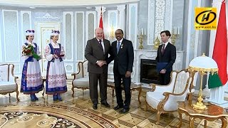 Александр Лукашенко провёл встречу с заместителем Генерального секретаря ООН