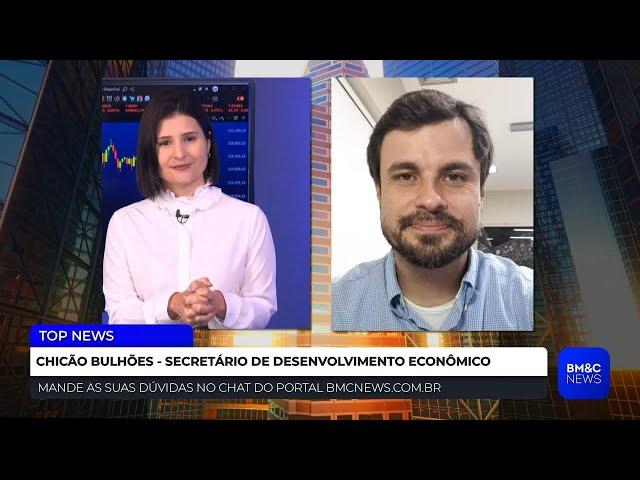 Reativação da Bolsa de Valores do Rio:  Entrevista exclusiva com Chicão Bulhões   TOP NEWS
