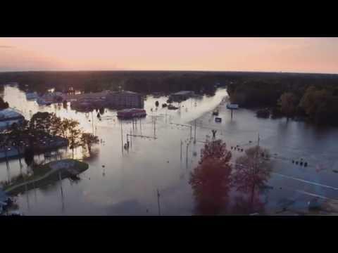 Hurricane Matthew Floods Kinston, NC