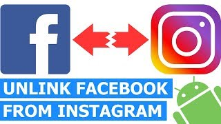 How to unlink your Facebook account from Instagram on an Android phone