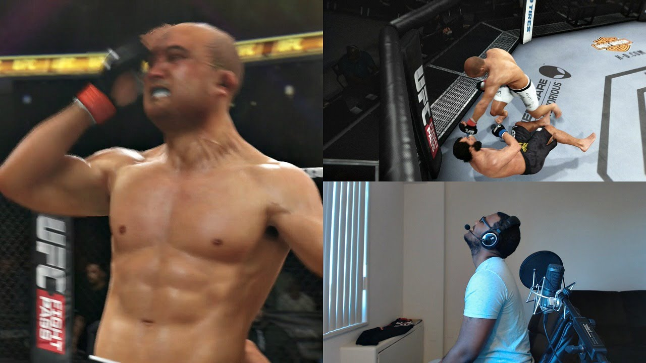 Download EA Sports UFC PS4 Online Gameplay FACECAM - Random Fighter Challenge!!