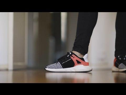 EQT Support ADV J (Big Kid) (Pink/White) Girls Shoes Parenting