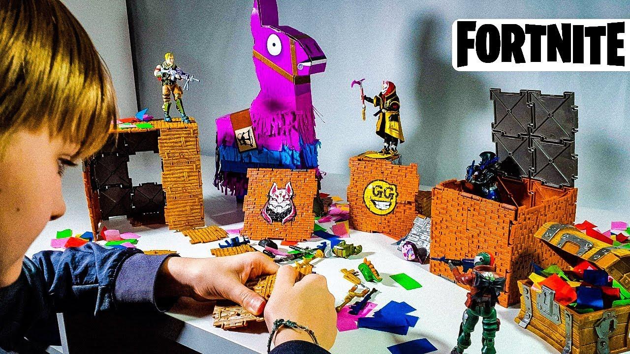 Fortnite llama drama loot