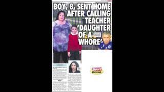 Jose Mourinho daughter of a whore shock