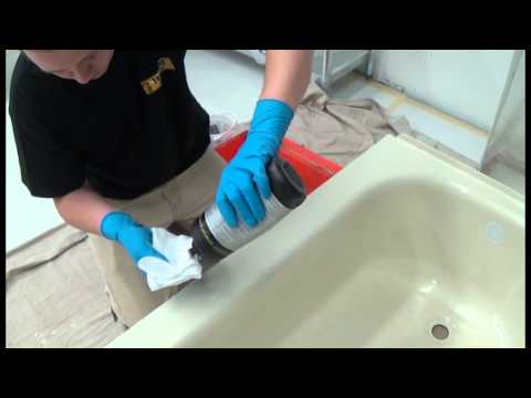 BATHTUB REFINISHING POLISHING INSTRUCTIONS