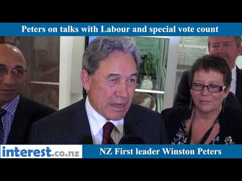 Peters on Labour talks