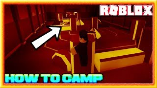 LIFE AS A CAMPER - HOW TO CAMP (ROBLOX ASSASSIN CAMPING CHALLENGE) *HOW TO BE ETHAN*