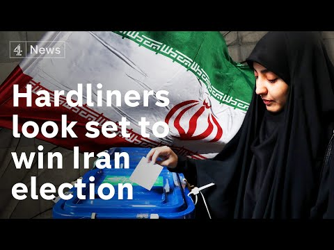 Jon Snow reports from Iran where hardliners look set to sweep election