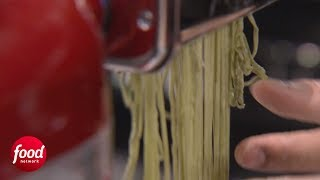 Color Changing Pasta   Iron Chef Showdown   Food Network