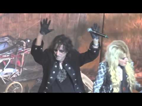 Alice Cooper & Orianthi  Poison  feat Johnny Depp