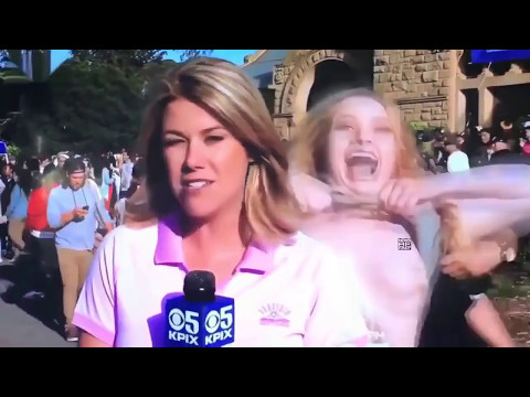 Most Viral News Bloopers 2016 - Funny Try Not To Laugh - Funny News Fails