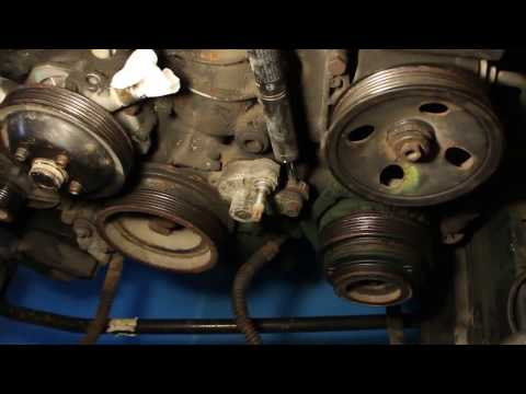 M111 Cylinder Head Gasket DIY - Disassembly
