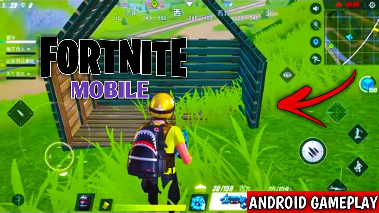 Updated Fortnite Mobile Quantum Special Attack Android Gameplay