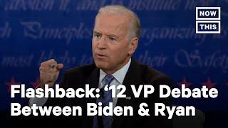 Archive: 2012 VP Debate Between Joe Biden and Paul Ryan | NowThis