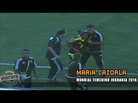 Goles Vinotinto │ GOL de Maria Cazorla │ Venezuela 1-1 Alemania │ Vinotinto Femenina