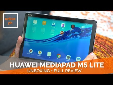 Huawei Mediapad M5 Lite Unboxing + Full Review