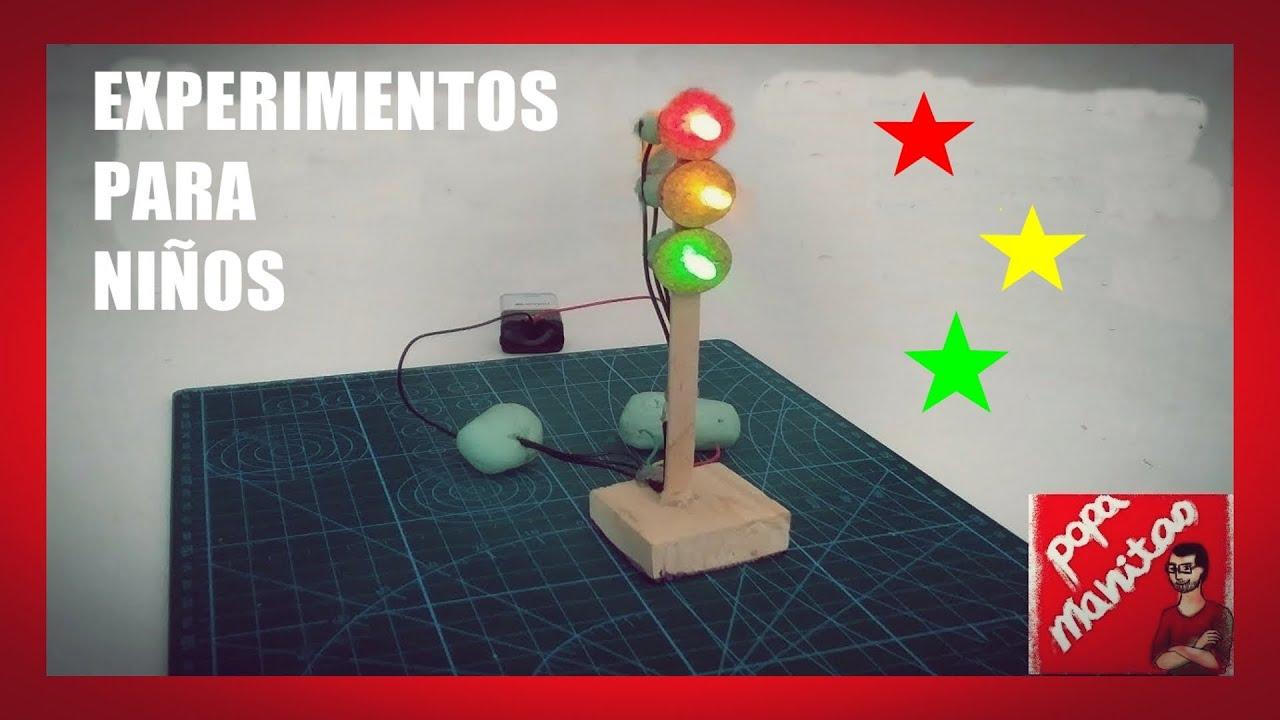 Circuito Electrico Simple Para Niños : 👩 🔬experimentos para niÑos circuito eléctrico con