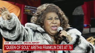 `Queen of Soul' Aretha Franklin Has Died