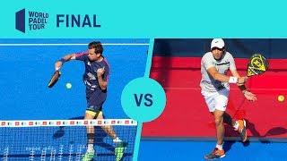 Resumen Navarro/Lebrón VS Galán/Mieres Final Valladolid Master2019